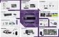 permet l'intégration de diverses technologies de systèmes de vidéosurveillance. Quel que soit le type de système appliqué, les solutions IP et AHD peuvent être intégrées dans le logiciel NMS