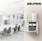 JABLOTRON 100 est un système polyvalent destiné à la sécurité, au contrôle d'accès et au contrôle des fonctions intelligentes dans votre entreprise. Il va simplement protéger la totalité ou des parties de vos locaux et vous fournir des informations immédi